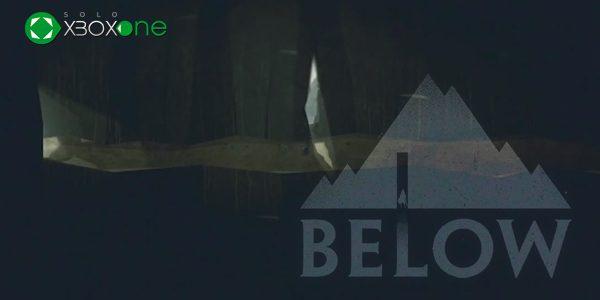Below, primero en XBOX One