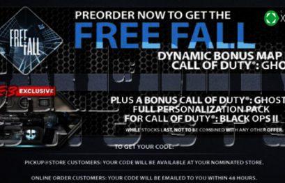 Recompensas por reservar Call of Duty: Ghost