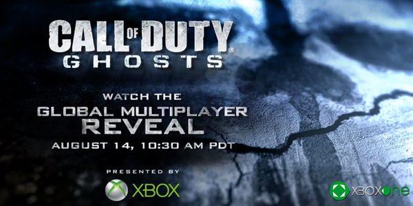 La presentación de Call of Duty: Ghost en XBOX Live