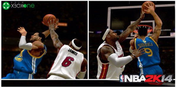 NBA 2k14, la defensa también importa