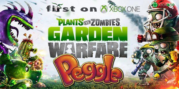 Primero en XBOX One… Peggle 2 y Plants vs Zombies Garden Warfare