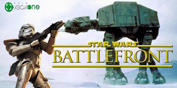 DICE quiere incluir vehículos en Star Wars Battlefront