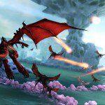 Draco's Coral Lake en Crimson Dragon 1