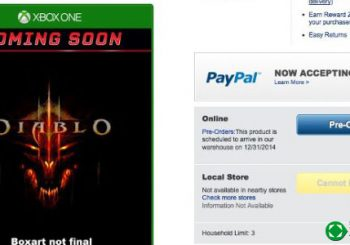 Diablo III en XBOX One según Best Buy