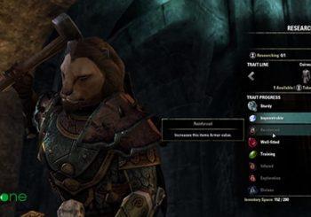 Elaborando armas en The Elder Scrolls Online