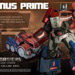 Desvelado Optimus Prime de Transformers: Rise of the Dark Spark 1