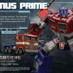 Desvelado Optimus Prime de Transformers: Rise of the Dark Spark 2