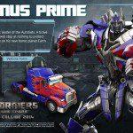 Desvelado Optimus Prime de Transformers: Rise of the Dark Spark 3
