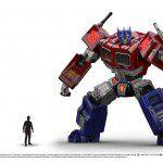 Desvelado Optimus Prime de Transformers: Rise of the Dark Spark 4