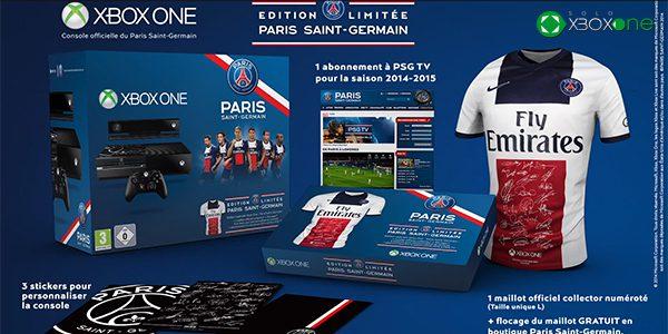 ¿Quieres Una XBOX One del Paris Saint Germain?