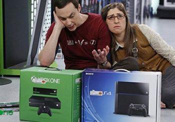 La guerra de consolas también en Big Bang Theory
