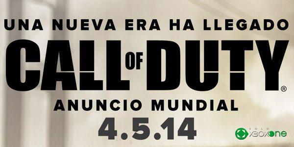 El 4 de mayo se presentará el nuevo Call Of Duty – Actualizada
