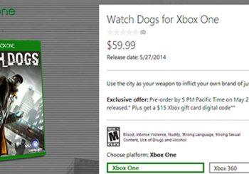Microsoft también promociona la reserva de Watchdogs