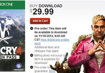 Se confirma el Season Pass para Far Cry 4