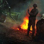 Arte conceptual del cancelado Call Of Duty: Vietnam
