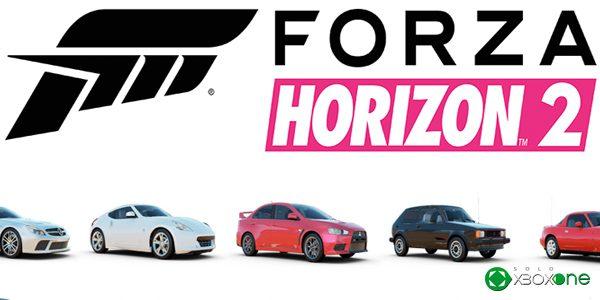 Presentados los últimos coches del catálogo de Forza Horizon 2