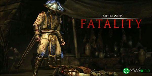 Presentado Raiden en Mortal Kombat X
