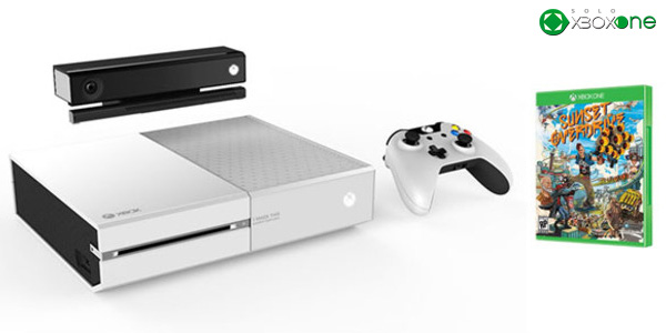 Vuelve a escena el bundle de Sunset Overdrive y Xbox One en color blanco