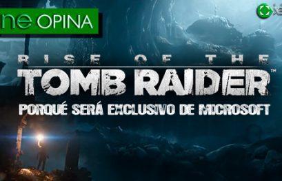 Rise of The Tomb Raider: Porqué será exclusivo de Microsoft