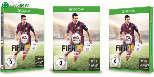 FIFA 15 es el juego más vendido en la última semana en Reino Unido