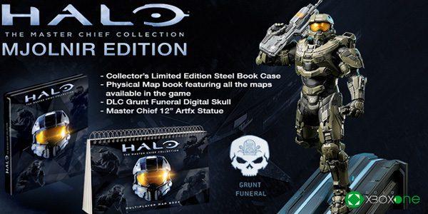 Anunciadas las ediciones especiales de Halo: The Master Chief Collection