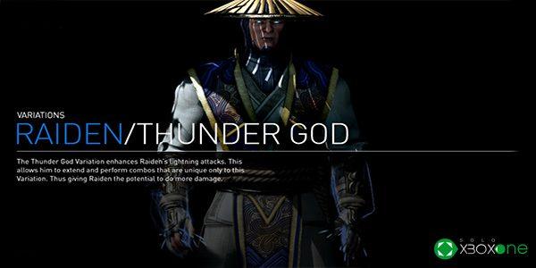 Nuevo Gameplay de Mortal Kombat X  – Raiden