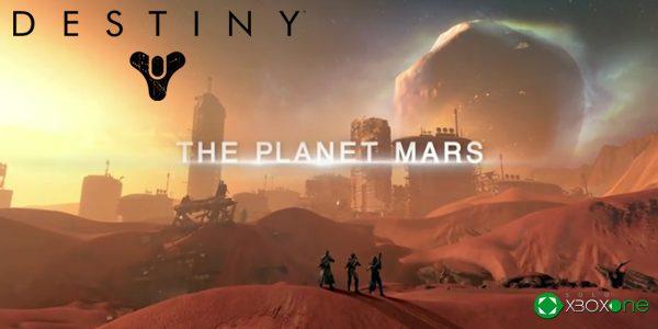 Bungie nos muestra Marte en un nuevo vídeo de Destiny