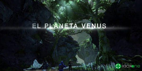 Así será el planeta Venus en Destiny