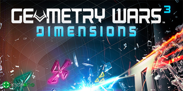 Geometry Wars 3: Dimensions, primer vídeo gameplay