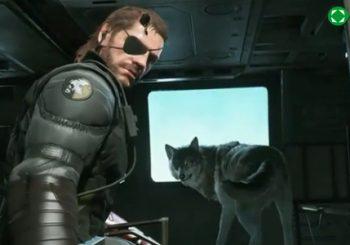 Este es D.D., nuestro ayudante en Metal Gear Solid V: The Phantom Pain