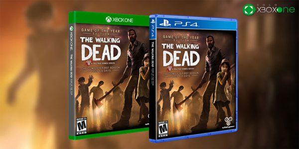 Las temporadas 1 y 2 de The Walking Dead llegarán en formato físico a Xbox One – ACTUALIZADA