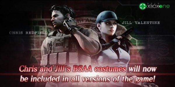 Estos son los nuevos trajes de la BSAA para Chriss y Jill Valentine