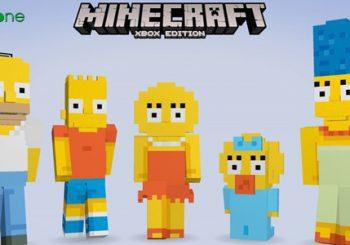 Los Simpson llegan a Minecraft para Xbox en febrero