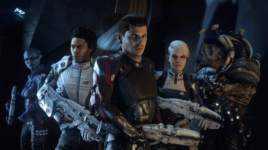 Mass Effect Andromeda no consigue superar a Mass Effect 3 en Reino Unido