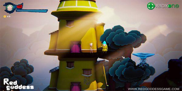 El plataformas español Red Goddess llegará a Xbox One