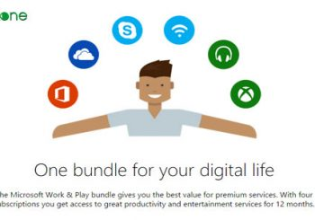 Microsoft presenta el Work & Play Bundle