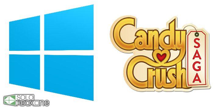 Candy Crush Saga vendrá pre-instalado en Windows 10