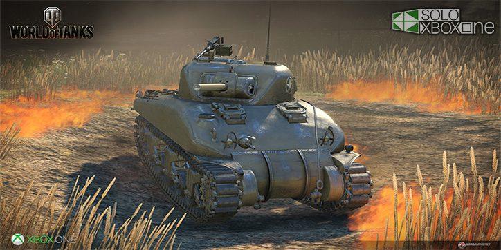 World of Tanks tendrá texturizado 4k en Xbox One