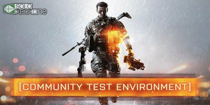 Las invitaciones al Community Test Enviroment de Battlefield 4 están llegando a Xbox One
