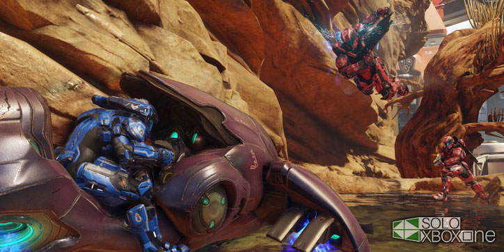 Halo 5: Guardians no contará con modo Big Team Battle de salida