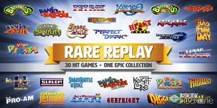 Rare Replay podría añadir más juegos mediante DLC