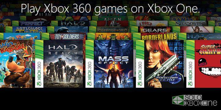 El 9 de noviembre se conocerá la lista de juegos retrocompatibles en Xbox One