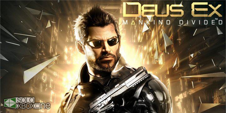 Deus Ex: Mankind Divided llegará a 30fps en consolas