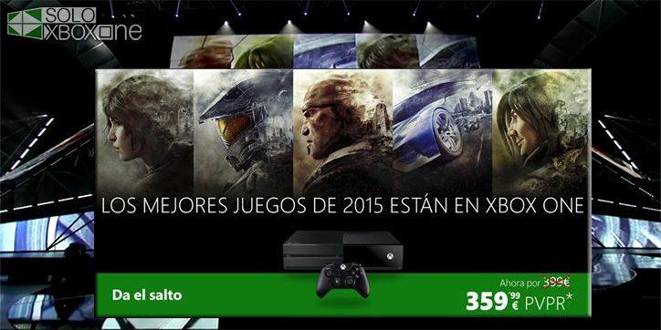 Xbox One baja de precio por tiempo limitado