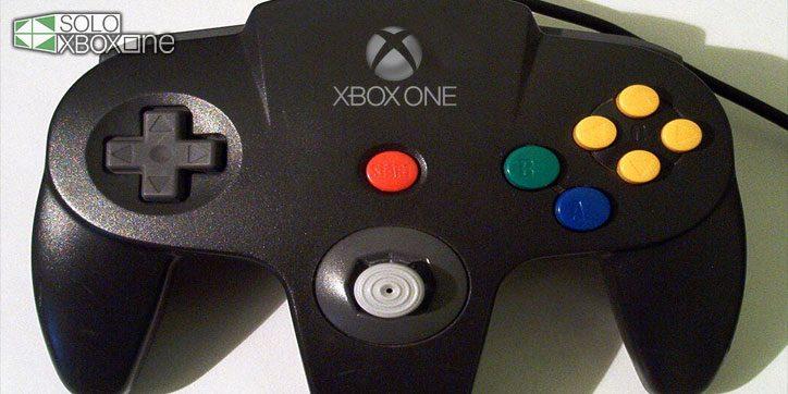 Presentan un mando de Nintendo 64 que funciona con Xbox One