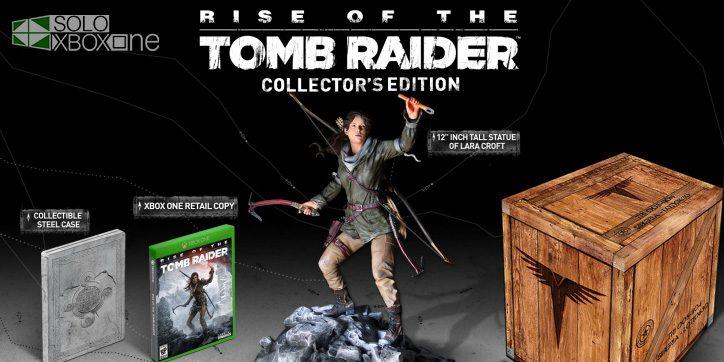 Unboxing de la edición coleccionista de Rise of The Tomb Raider