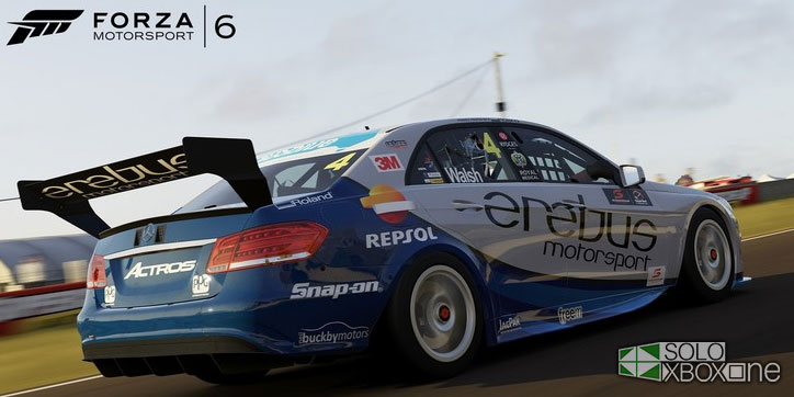 Aquí tenéis la lista de los Supercars V8 que harán acto de presencia en Forza Motorsport 6