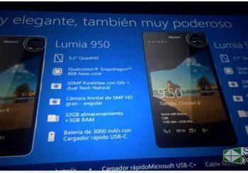 Ya a la venta los Microsoft Lumia 950 y 950XL