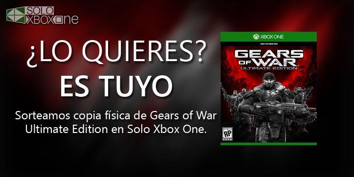 Sorteamos Una Copia Física De Gears Of War Ultimate Edition