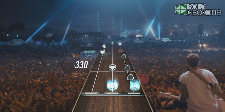 Mira este anuncio de Guitar Hero Live con Lenny Kravitz y James Franco